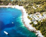 Okrug Gornji öböl a nyílt tenger felől